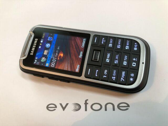 Samsung GT c3350-Stahl Grau harte Handel Handy, EE, idealer Ersatz!