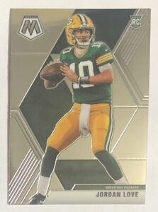 Jordan Love Rookie Card RC 2020 Panini Mosaic Football #211 Base NFL Packers QB