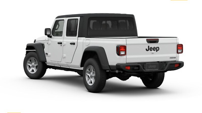 "NEW 2020 Jeep Gladiator Rear ""JEEP"" Matte Black Tailgate ..."