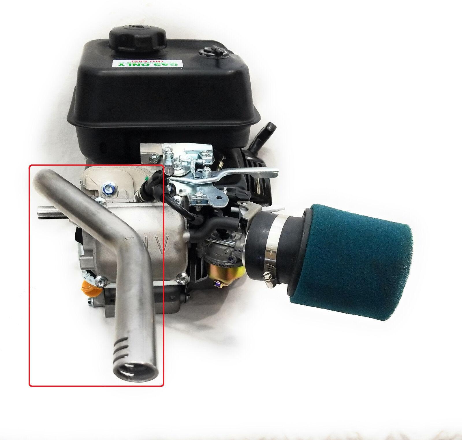 Center Rear Header Exhaust Pipe for Predator  212cc, GX160, GX200. Powerhorse 208  online sales