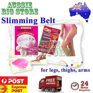 ecef419baa Leg Thigh Arm Anti Cellulite Burn Fat Slimming Belt Wrap Loss Weight ...