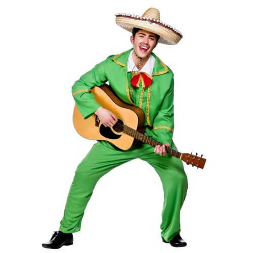 Mexican Tortilla Guy Fiesta Mexico Spanish Adults Mens Fancy Dress Costume