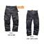 Scruffs-3D-Pro-Pantalon-Trabajador-Workwear-oscuro-de-plomo-Grafito-Colourway-Plus-Comercio miniatura 9