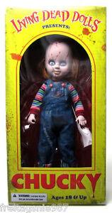 Chucky Living Dead Dolls Poupée 25cm Par Mezco