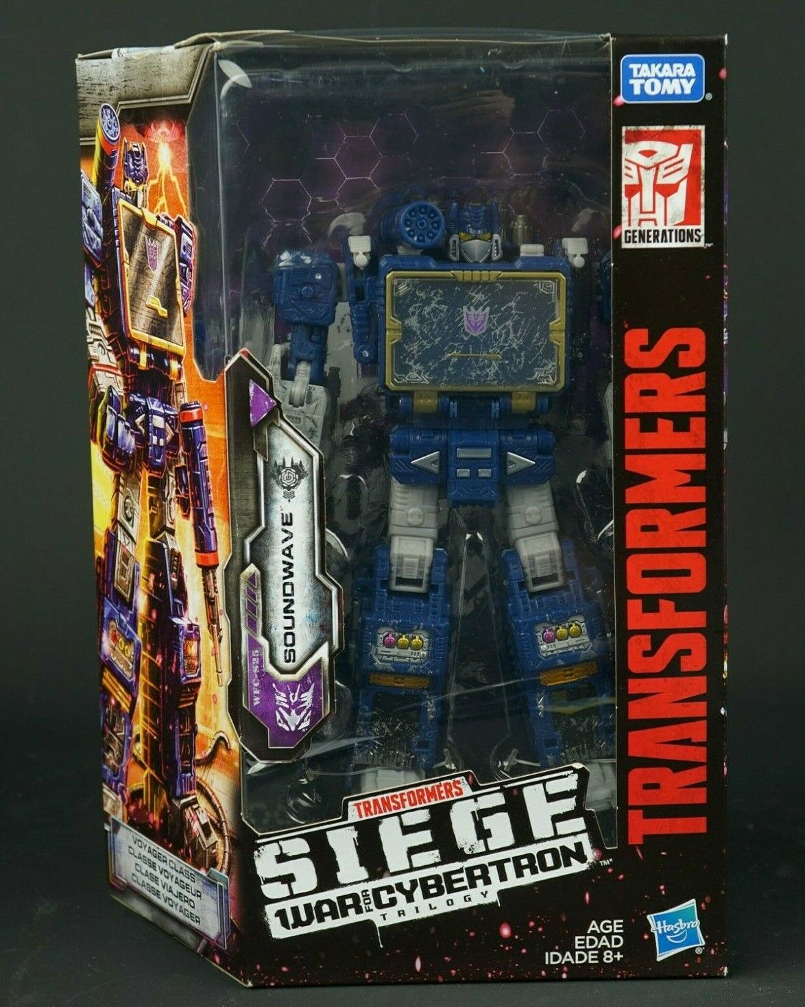 Transformers Hasbro WAR for Cybertron D'ASSEDIO VOYAGER suonowave NUOVO IN SCATOLA SIGILLATA