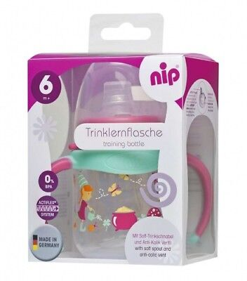 Nip Trinklernflasche 150 Ml Ab 6 Monate Trinkflasche Antirutschgriff Bpa Frei Beautiful And Charming