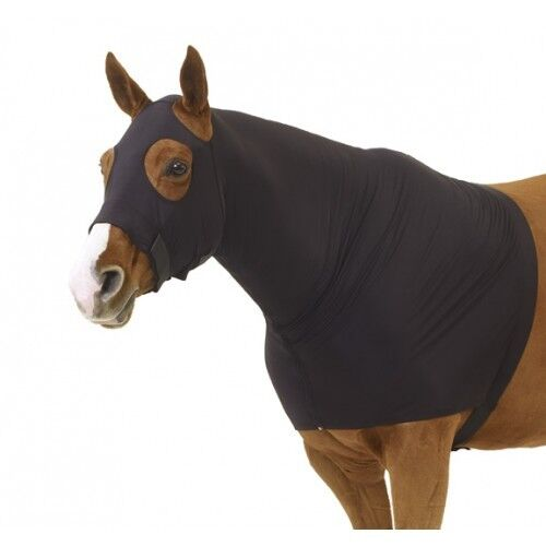 Small Large /& XL Centaur Stretch Full Zip Hood // Sleezy Black Med
