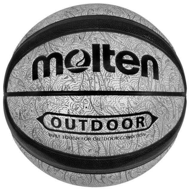 GO Series Grey Outdoor Basketball Size 7 from Molten