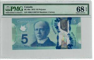 Canada-5-2013-BC-69a-PMG-Superb-Gem-UNC-68-EPQ