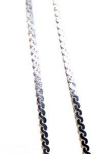 Serpentine Sterling Silver Pendant