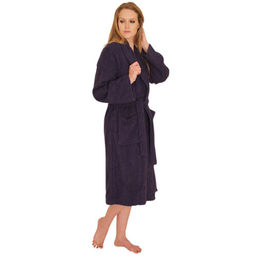 NDK New York Women/'s and Men/'s Terry Cloth Bath Robe 100/% Cotton