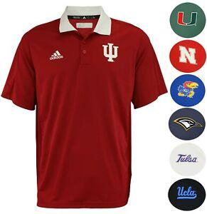 Adidas-NCAA-Men-039-s-Coaches-Polo-Team-Variation
