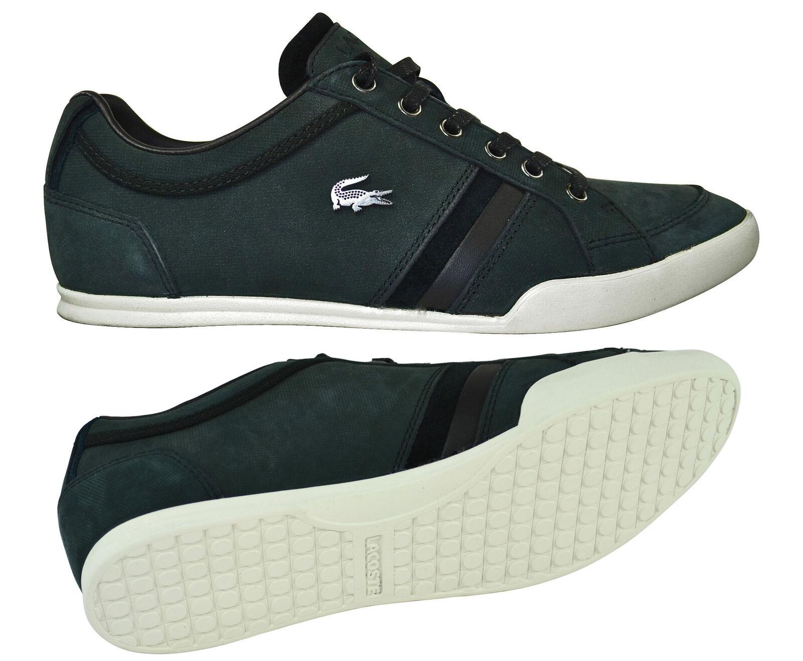 Lacoste Rayford 4 SRM black Schuhe Sneaker schwarz Gr.40 Sale