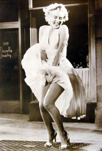 MARILYN MONROE 5x7 PICTURE FAMOUS SEVEN YEAR ITCH PHOTO