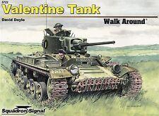 20333/ Squadron Signal - Walk Around 22 - Valentine Tank - TOPP HEFT