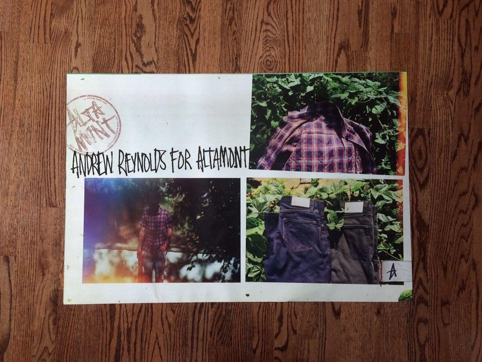 Altamont Shop Poster Rare Andrew Reyonlds Baker Deathwish
