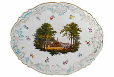 19th-C. LG Meissen Porcelain Plaque