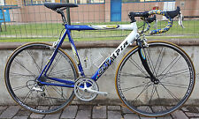 Bici corsa alluminio Olympia Backbone Campagnolo Veloce made in Italy road bike