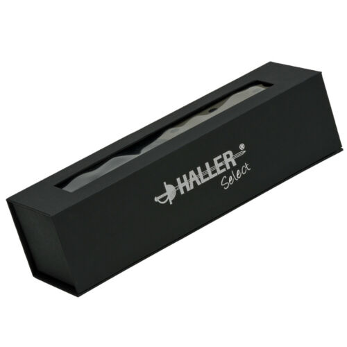 Haller Select Sprekur Einhandmesser Springmesser Olivenholzeinlage mit Clip