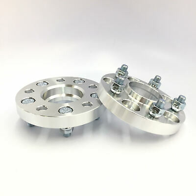 2X HubCentric Wheel Spacers Adapters 4x114.3 64.1 12x1.5 15MM HONDA ACURAUSED
