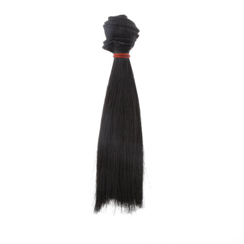 25cm Straight Doll Wigs Synthetic Hair for 1//3 1//4 1//6 BJD SD Doll Accessories