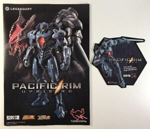 NYCC-2017-Pacific-Rim-Uprising-Promo-Flyer-And-Movie-Sticker-Decal-Exclusive-Set