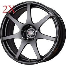 Drag Wheels DR-48 19X8 5/114.3 +40 Flat Black Full Rims For g35 s2000 350z