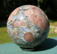 Que Sera Stone Sphere / Crystal Ball ~ LLanite ~ Blue Liberite
