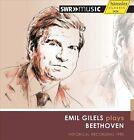"""Emil Gilels plays Beethoven (CD, Mar-2013, H""""nssler Classic)"""