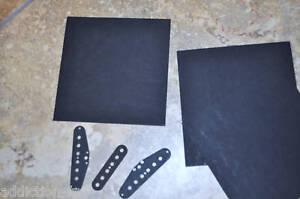 """2019 DernièRe Conception Noir Vulcanisé Carton 6''x6'' (épaisseur .093""""), Qty 3 Pieces-afficher Le Titre D'origine"""