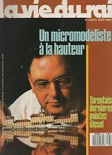 la vie du rail N°2138 tarentaise gerard pinel micromodeliste  1988