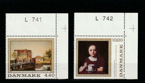 A111-danemark-sg895-896 Neuf Sans Charnière 1989 Peintures