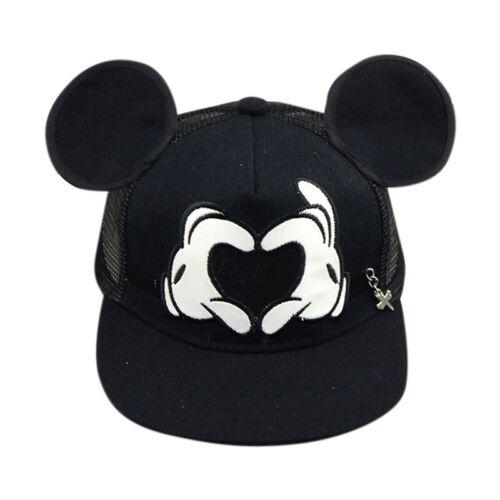 Kids Boys Girls Mickey Minnie Mouse Baseball Cap Sport Adjustable Snapback Hat