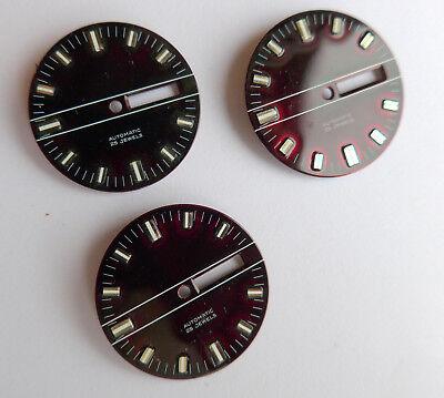 Lotto Di Vari Uhrblätter Quadranti -- Produttore Sconosciuto ---mostra Il Titolo Originale