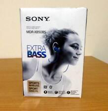 Sony MDR-XB50BS Extra Bass Bluetooth Sports Splashproof In-Ear Headphones -Blue