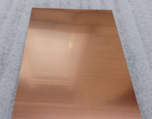Many Thickness/' 500mm x 500mm Classic Copper Sheet Metal