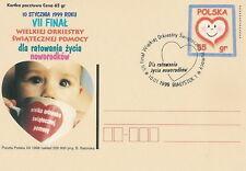 Poland postmark BIALYSTOK - VII final WOSP (analogous)