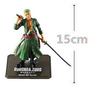 1x-Anime-One-Piece-Battle-Action-Figure-Toy-Roronoa-Zoro-Figurine-Statue-No-Box