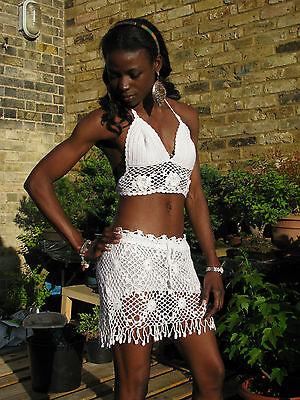 Crochet Handmade  Miniskirts and Shorts. UK SELLER