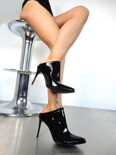 on Black Vegan Giohel Sandals Sandalen Nero Italy 45 Slip Sandali Pantoletten a4axqBHwY8