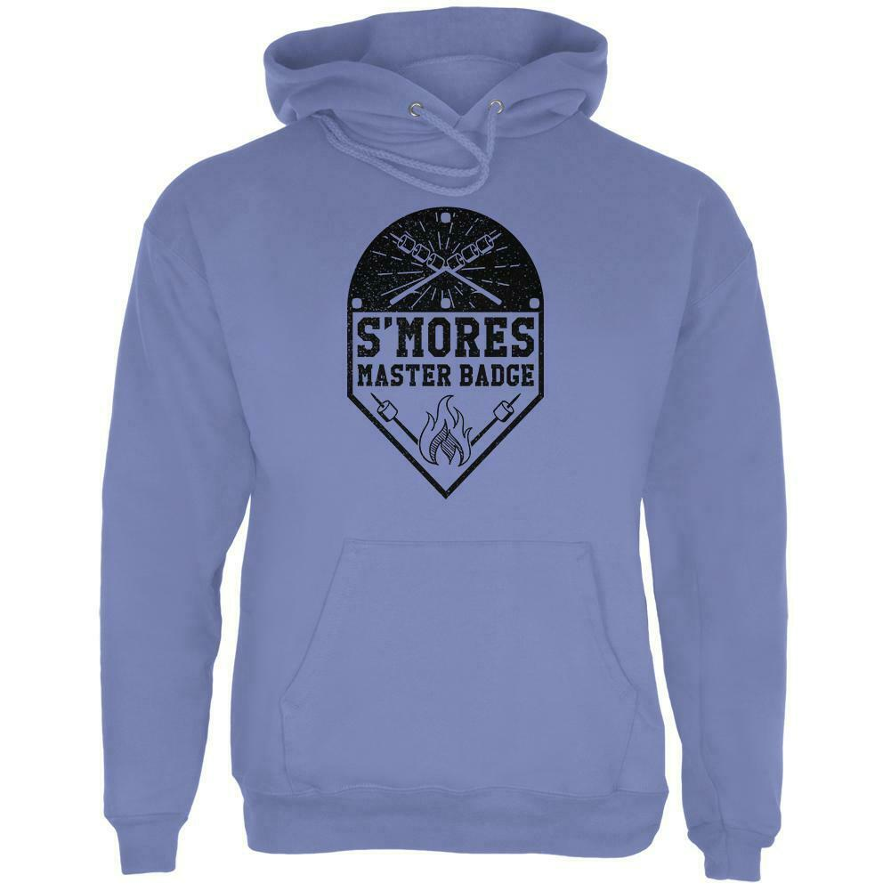 S'Mores Master Badge Mens Hoodie