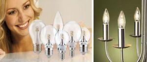 PAULMANN-LED-Leuchtmittel-2-5W-E14-E27-Tropfen-Globe-Kerze-Gluehbirne-Lampe