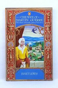 The-Wife-of-Martin-Guerre-by-Janet-Lewis-classic-novel-textbook-used-paperback