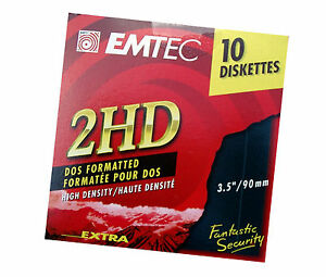 10 2 hd 3 5 zoll disketten diskette neu sofort compuer. Black Bedroom Furniture Sets. Home Design Ideas