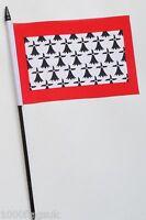 France Limousin Small Hand Waving Flag
