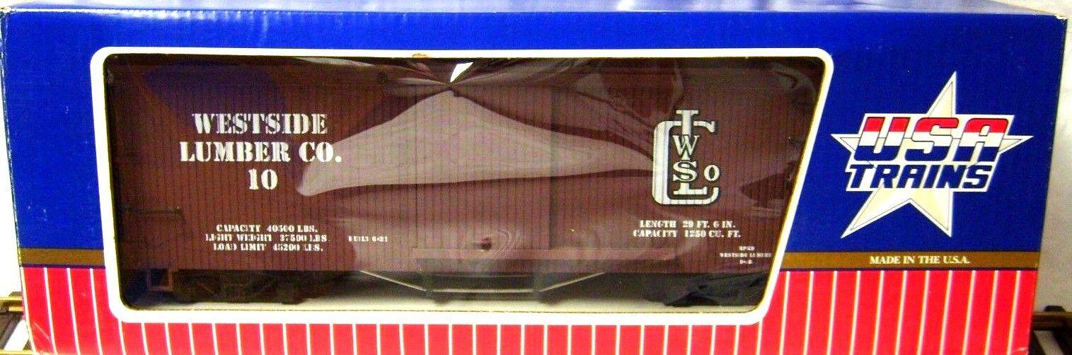 USA 19041 WESTSIDE LUMBER CO.   10 WOOD scatola auto