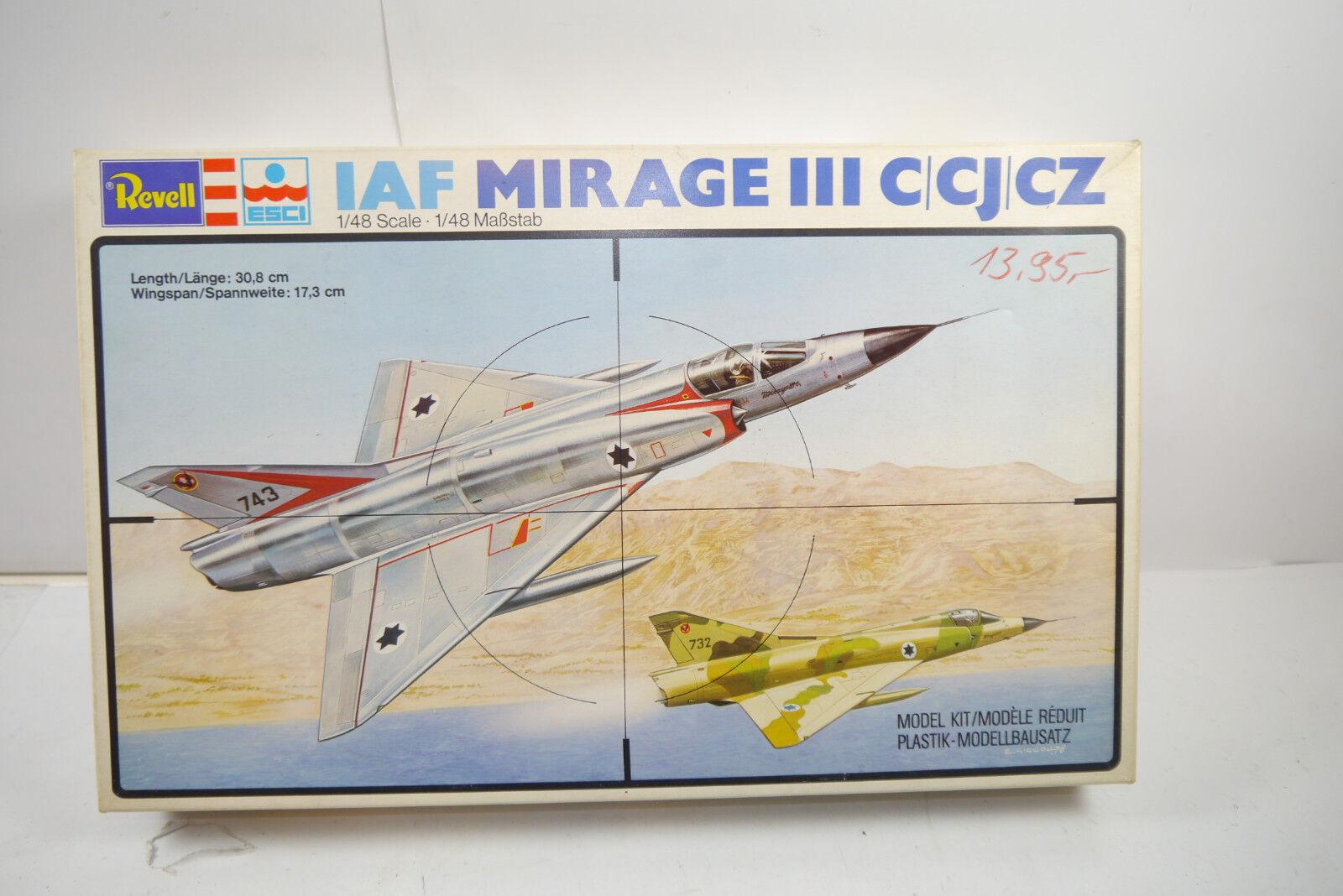 aquí tiene la última Revell Revell Revell 2230 Iaf Mirage III C   CJ   Cz Escultura Modelo de Construcción 1 48  Ahorre 35% - 70% de descuento
