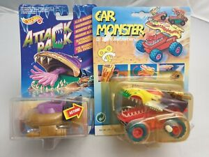 Vintage-Simba-Car-Monster-Hot-Wheels-Attack-Pack-Invaders-034-Cosmo-Clam-034-Moc-Ovp