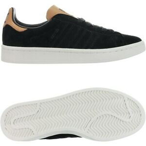 Details about Adidas Campus black Women's low-top sneakers nubuck trainers  casual shoes NEW