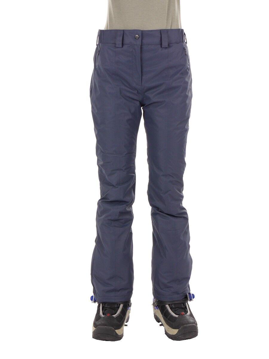 CMP ski snowboard pants femmes gris trousers windproof imperméable twill